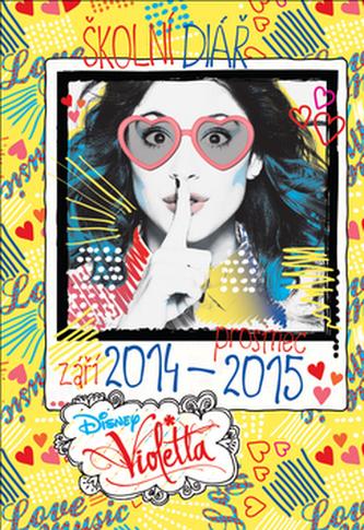 Violetta školní diář 2014-2015
