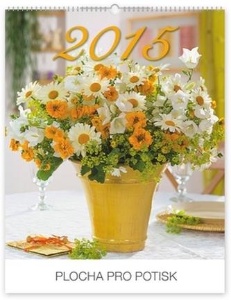 Květiny Praktik - nástěnný kalendář 2015