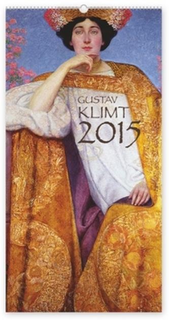 Gustav Klim - nástěnný kalendář 2015