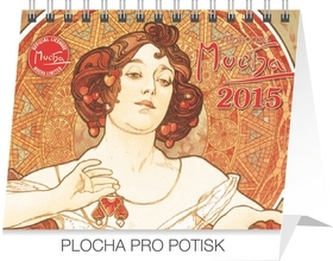 Alfons Mucha Praktik - stolní kalendář 2015