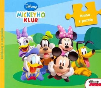 Mickeyho klub Kniha s puzzle