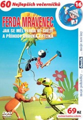 NORTH VIDEO - Ferda mravenec: Jak se měl ve světě - DVD