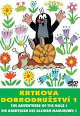 Krtkova dobrodružství 1. - DVD