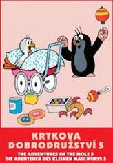 Krtkova dobrodružství 5. - DVD
