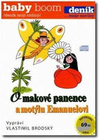 O makové panence a motýlu Emanuelovi - CD