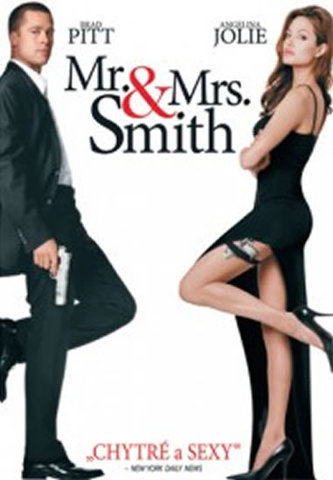 Pan a paní Smithovi - DVD