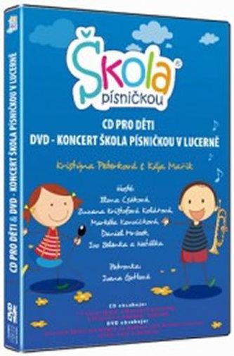 Škola písničkou - CD+DVD