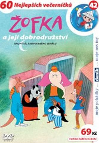 Žofka a její dobrodružství 2. - DVD