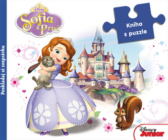 Sofia Prvá Kniha s puzzle