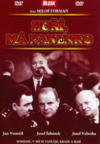 Hoří, má panenko - DVD - Forman Miloš
