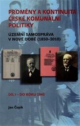 Proměny a kontinuita české komunální politiky