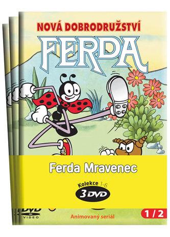 NORTH VIDEO - Ferda Mravenec - kolekce 3 DVD