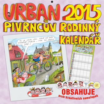 Urban Pivrncův rodinný kalendář 2015 - nástěnný kalendář