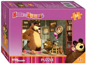 Puzzle mini 54 Máša a Medvěd - Doma je doma