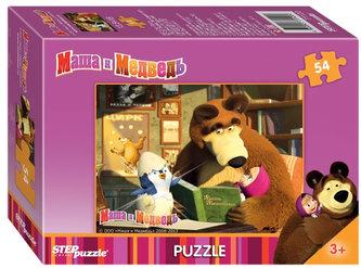 Puzzle mini 54 Máša a Medvěd - Tučňáček