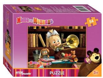 Puzzle mini 54 Máša a Medvěd - Trumpeta