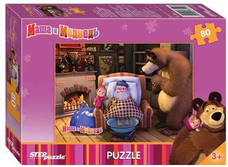 Puzzle 80Máša a Medvěd - Dědeček