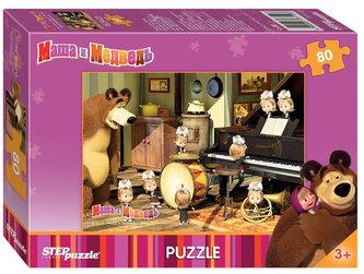 Puzzle 80Máša a Medvěd - Orchestr