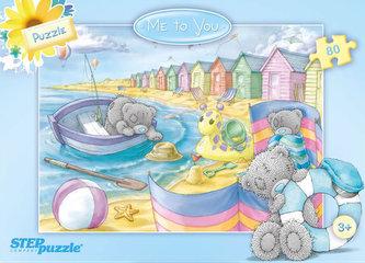 Puzzle 80 Me to You - Na pláži