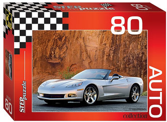 Puzzle 80 Auto Collection - Chevrolet Corvette