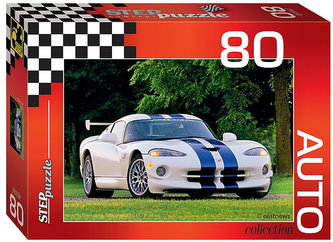 Puzzle 80 Auto Collection - Dodge Viper