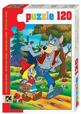 Puzzle 120 Pohádky - Červená karkulka