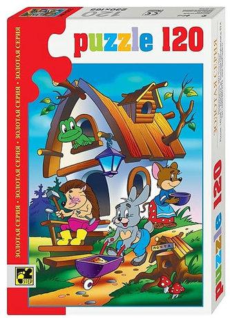 Puzzle 120 Pohádky - Zvířátka v domečku