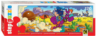 Puzzle 120 Panorama Pohádky - Bandita