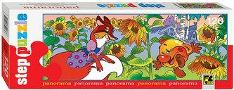 Puzzle 120 Panorama Pohádky - O Koblížkovi