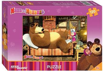 Puzzle 120 Máša a Medvěd - Medvěd stůně