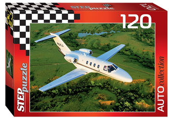 Puzzle 120 Auto Collection - Jet - neuveden