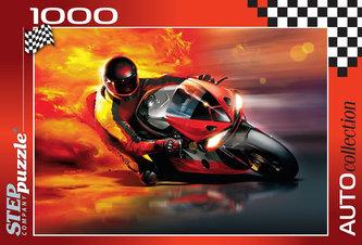 Puzzle 1000 Závodník v plamenech