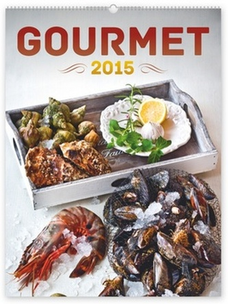 Kalendář 2015 - Gourmet David Háva - nástěnný
