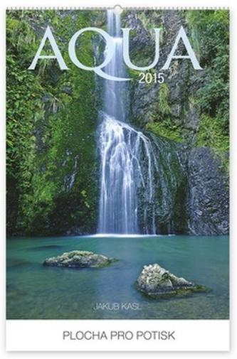 Kalendář 2015 - Aqua Jakub Kasl Praktik - nástěnný s prodlouženými zády