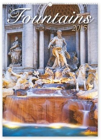 Kalendář 2015 - Fontány - nástěnný