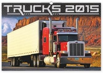 Kalendář 2015 - Trucks - nástěnný
