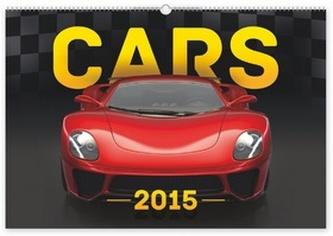 Kalendář 2015 - Auta - nástěnný