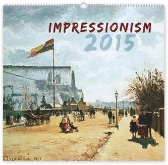 Kalendář 2015 - Impresionismus - nástěnný