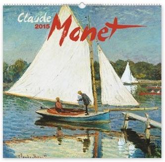 Kalendář 2015 - Claude Monet - nástěnný