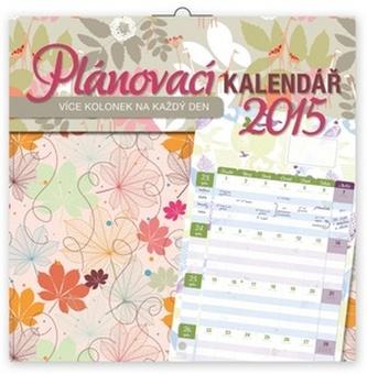Kalendář 2015 - Plánovací s více kolonkami na každý den