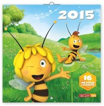 Kalendář 2015 - Včelka Mája - nástěnný (CZ, SK, HU, PL)