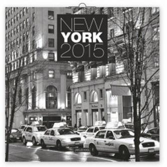 Kalendář 2015 - New York Jakub Kasl - nástěnný (CZ, SK, HU, PL, RU, GB)