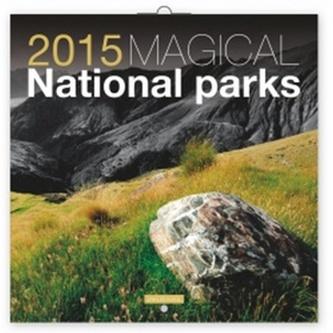 Kalendář 2015 - Magické národní parky Jakub Kasl - nástěnný (CZ, SK, HU, PL, RU, GB)