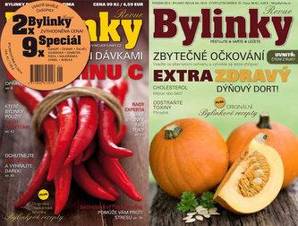 Bylinkový rok - komplet 2x Bylinky Revue a 9x Speciál Bylinky
