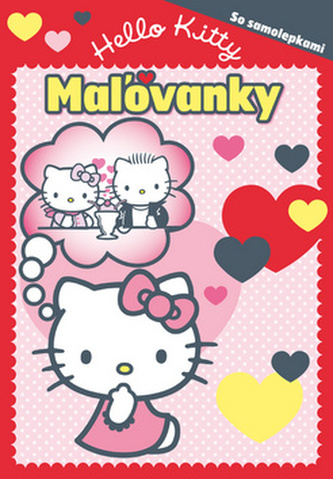 Hello Kitty Mažovanky so samolepkami
