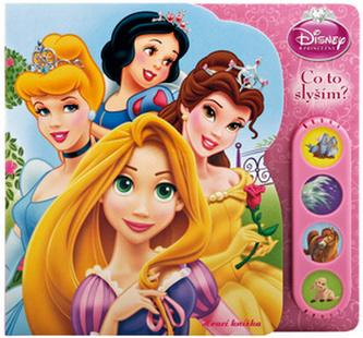 Balíček 2ks Princezny Zvuková knížka + hračka