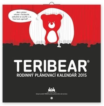 Kalendář 2015 - Teribear rodinný plánovací - nástěnný