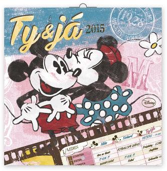 Kalendář - W. Disney Ty&Já - nástěnný