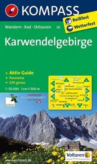 Kompass Karte Karwendelgebirge