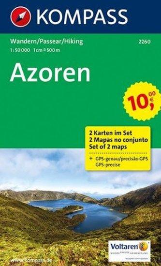 Azoren 2260 ( sada 2 mapy )